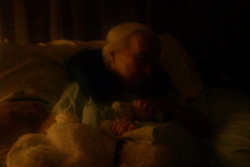 My mother in 2011,  18 months after she became ill