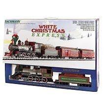 Bachmann White Christmas Express Train Set - Photo Credit: Amazon