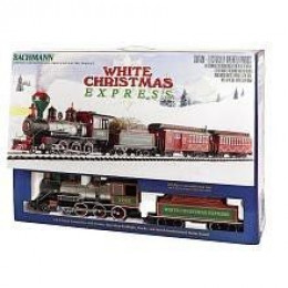Bachmann White Christmas Express Train Set - Photo Credit: Amazon