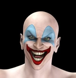 Is This Clown Picture Scary?