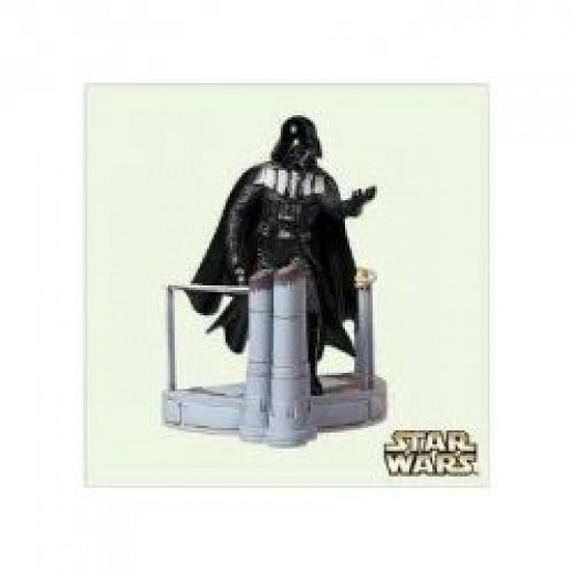This Darth Vader Christment Ornament From Hallmark Is Ready To Hang On Your Tree.  The picture is from Amazon and you can find this ornament on sale here.
