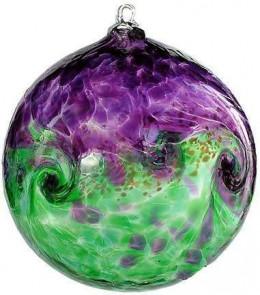 Here is a beautiful handblown Kitras Art Ball