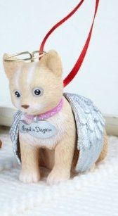 This Little Kitten Has Angel Wings And It's From Hallmark For Christmas 2012. Hallmark Are Always Treasured Christmas Ornaments And This Is A Cat Lovers Dream Come True.  Image Credit:  Amazon