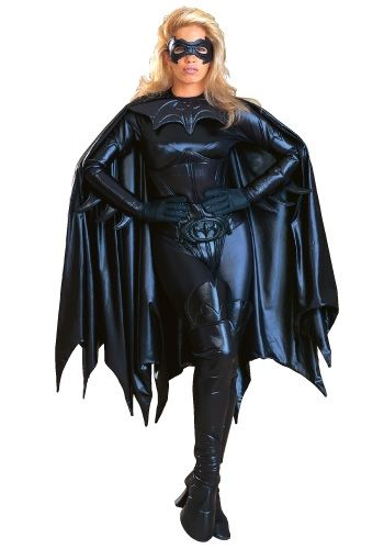 Adult Authentic Batgirl Costume - An Expensive, But Very Hot Bat Costume For Halloween