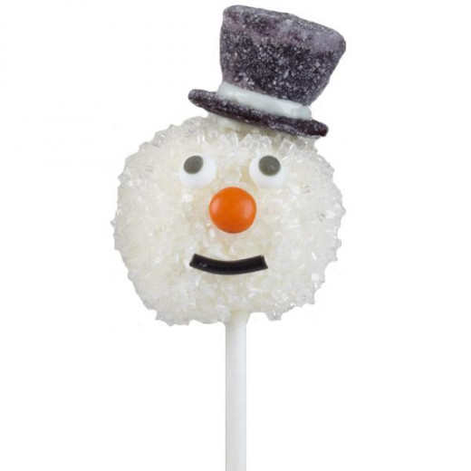 Frosty is another cake pop idea that's perfect for the holidays.  Picture source & How to's for this cake pop can be found at http://www.wilton.com.