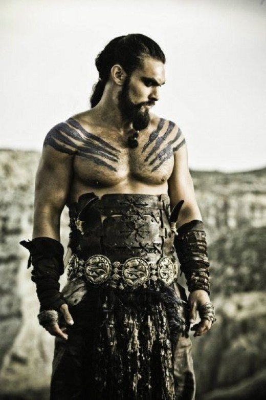Khal Drogo is Khaleesi's husband.