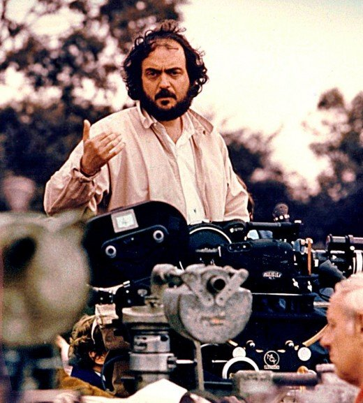 Picture of Clockwork Orange Director Stanley Kubrick