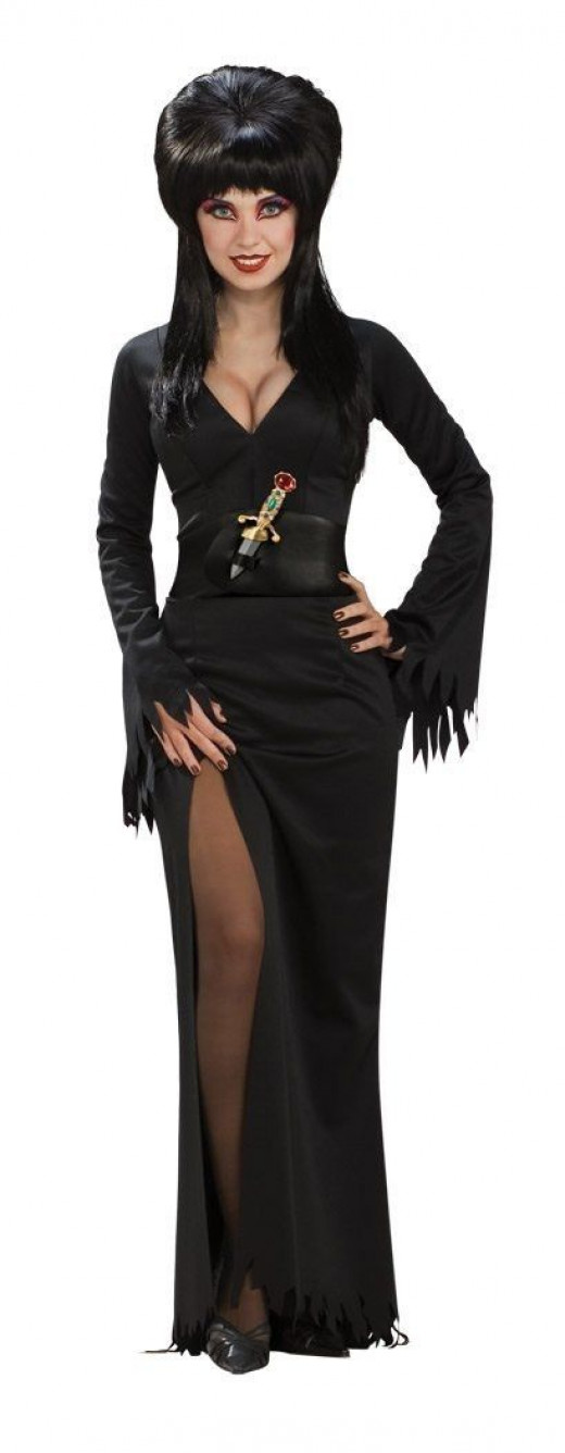 Choose The Plus Size Elvira Costume For Some Halloween Dress Up Fun
