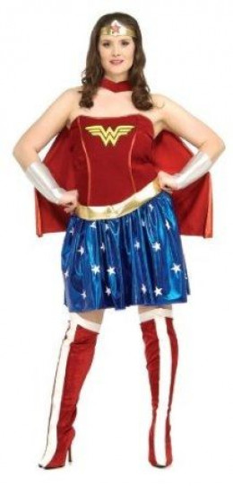 Wonder Woman Costumes Come In Plus Size And You Can Get Them Here.