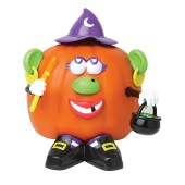 Mrs Potato Head Pumpkin Decorating Kit - Look She Is A Kitchen Witch Too!