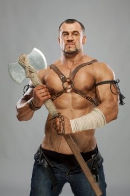 Muscle Ideas For You Conan Costume