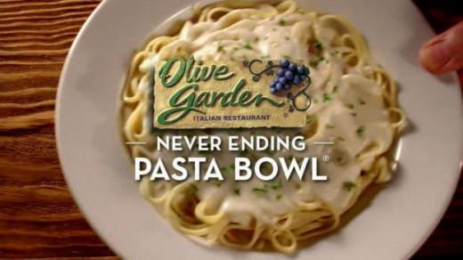 Never Ending Pasta Bowl 2014
