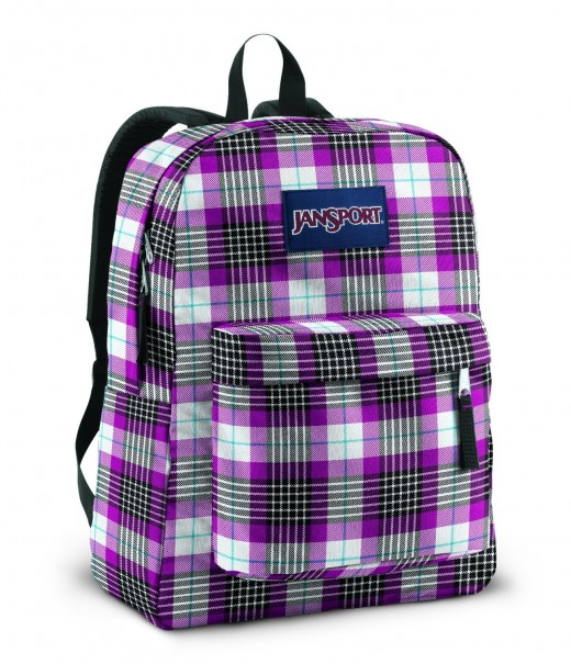 plaid-purple-school-bags-for-tweens-and-teens