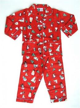 Snowman Christmas PJs for the Family