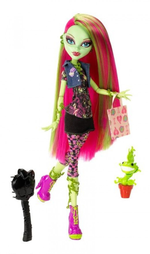 Here's Venus McFlytrap From Mattel's Monster High Doll Collection
