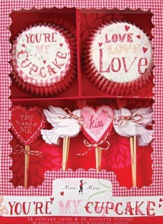 charming valentine cupcake supplies