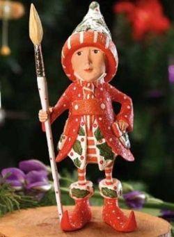 Patience Brewster's Elf Ornament To Match Her Vixen Reindeer.