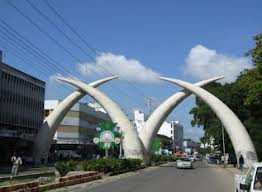 Mombasa city is a key Jambo Jet destination