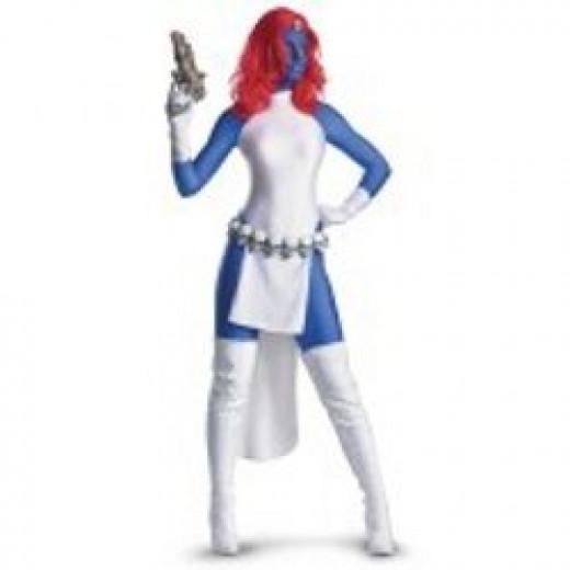 The X-Men Mystique Halloween Costume For Women