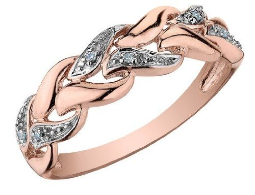 rose gold ring Valentines Day