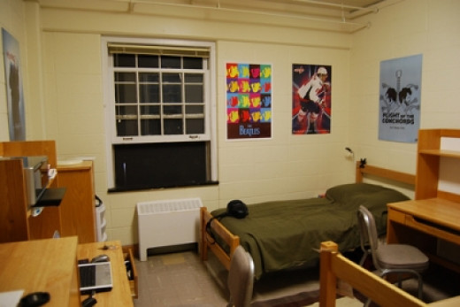 Which Dorm Room Issues Do You See Here?  (Image credit:  borman818 at Flikr)
