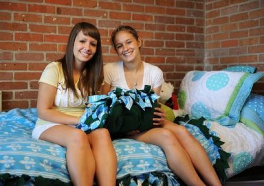 Sharing a Room Means Being Flexible (Image Credit:  Tulane Public Relations at Flikr)