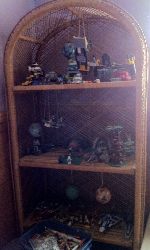The Wicker Lego Shelf Saves the Day