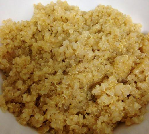 Quinoa ready to eat!