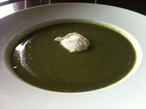 Stinging nettle soup