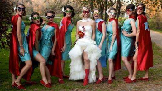 Super Hero Wedding Theme