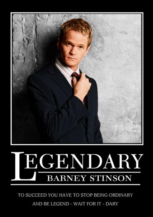 Barney Stinson Lengendary