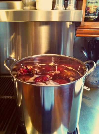 Cooking Red Beets