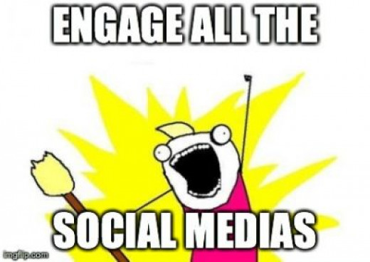 It's hard not to get excited about all the new social media's all the time!! Don't forget you still need to be a good company before you get social!