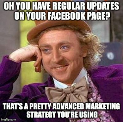 Just updating your Facebook page, Instagram or Twitter, that's easy, developing a way to inspire your team to communicate better, now that's a strategy.