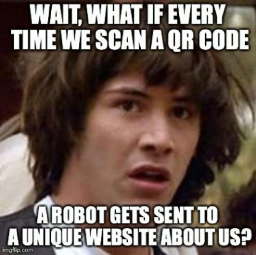 Nope, still QR codes have no use. None. Please stop using them.