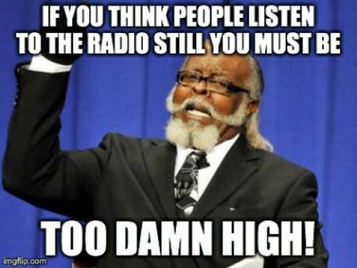 You may listen to it passively at a store or in someones car, but you never are engaged in listening. This makes recalling what you hear on there a lot more difficult. Rather try permission based marketing instead.