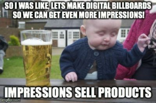 Impressions sell products