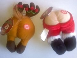 Santa and Reindeer Butts