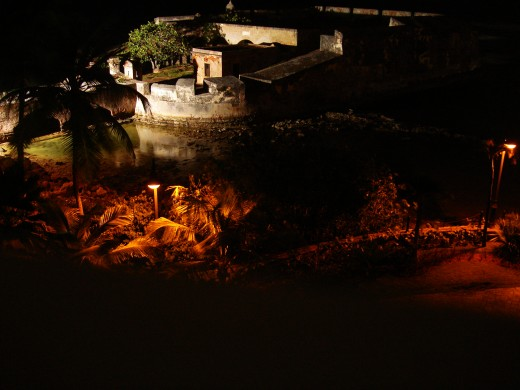 Fort San Geronimo from my balcony