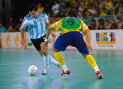 Futsal's the Hot Brazilian Soccer Game