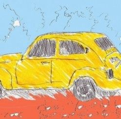 A Plethora of Old Yellow Cars & A Few Young Ones Make The Road Safer