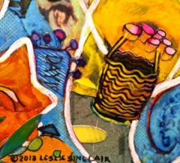 Collage Detail Leslie Sinclair