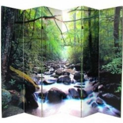 Vibrant Double Sided Room Divider Screens