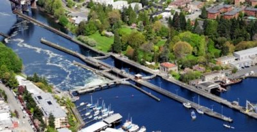 Seattle's Hiram M. Chittenden Locks