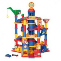 7-Floor Wader Park Tower Playset & Cars