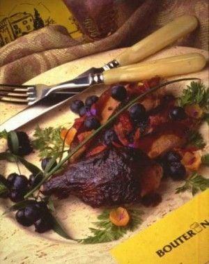 Roast Duck w/blueberry