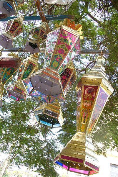 Ramadan Lanterns B. Simpson Cairocamels