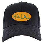 Halal Tees Black Cap