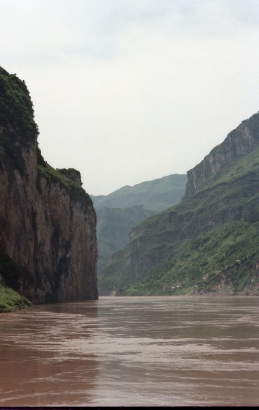 The beautiful Yangtze River.