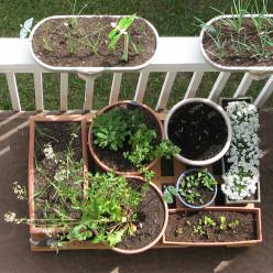 DIY Pallet Planter Platform
